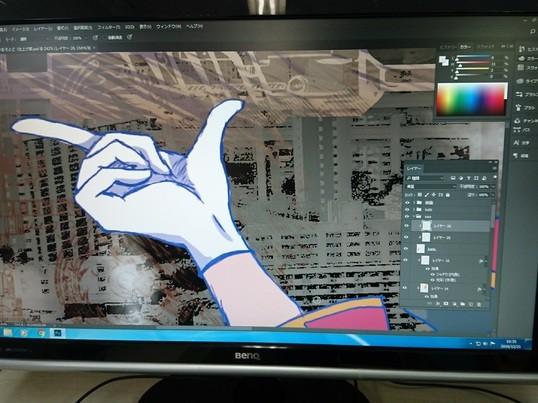 PhotoshopCCを使ったアニメイラスト作成入門の画像