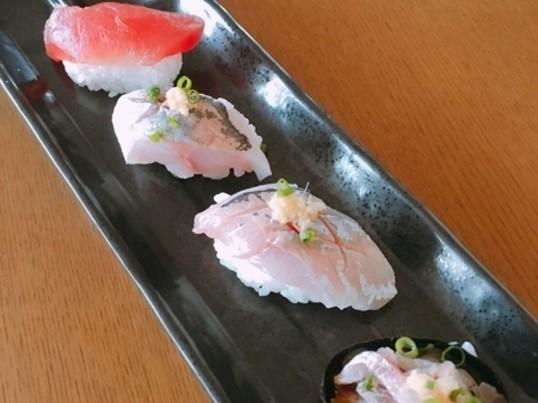 アジのソテー・握り寿司・たたき!一人二尾三枚おろしてアジ尽くしの画像