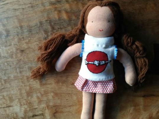 シンプルな顔でも、めちゃカワ☆人形作り入門の画像
