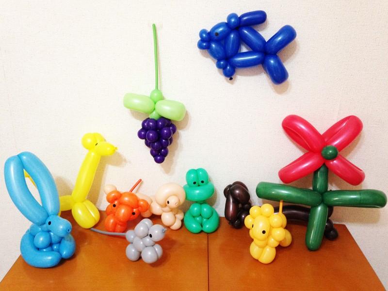 【オンライン可】子供が喜ぶバルーンアートに触れてみよう!※初回のみの画像