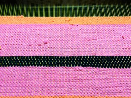 『qu-ha』裂織りラグ教室の画像