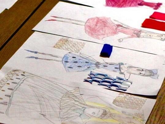 手話通訳付き☆きこえない子のためのファッションデザイナー体験♩の画像