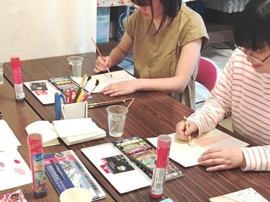 【小郡市の人気カフェ開催】簡単な塗り絵から始められる!色彩心理講座の画像