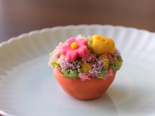 春です♪とっておきかわいい練り切りを作ろう!「桜2種」と「野の春」の画像