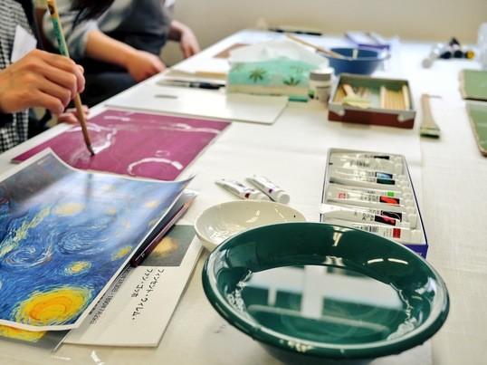 現役の美術作家が教える模写講座 「ルネ・マグリットの大家族」の画像
