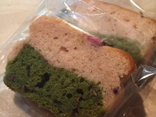 卵・小麦粉・乳不使用! 桜の和風ケーキ♪の画像