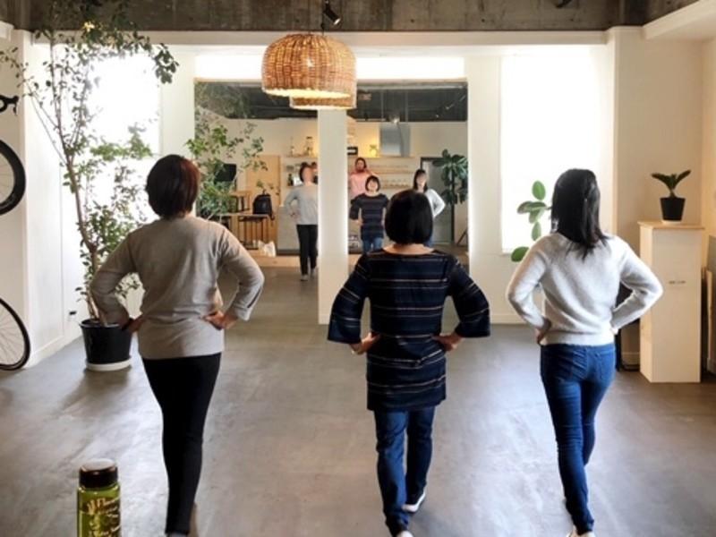 90分で歩く姿が美しくなる 基本plusヒールウォーキング@神戸の画像