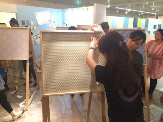 【賃貸でもペンキが塗れる】初めてでも簡単!壁紙×ペイントDIY教室の画像