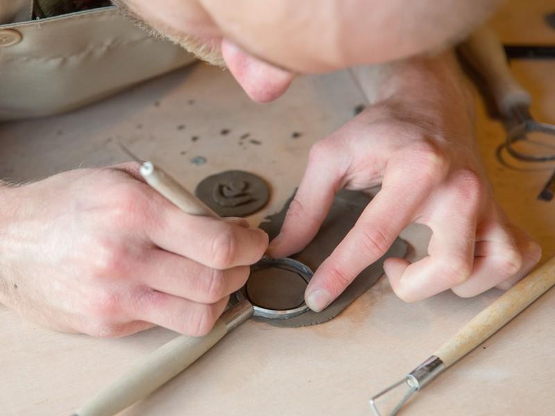 日曜日限定!陶器の箸置き作りワークショップ!の画像