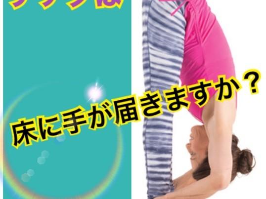 【前屈ストレッチ編】プロダンサーが教える手軽でラクチン柔軟法の画像