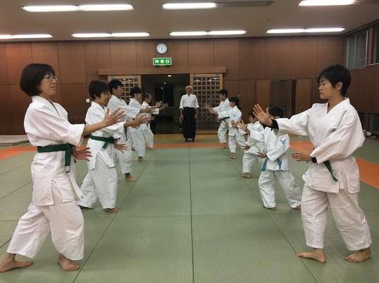 志木体育館合気道体験教室開校!!の画像