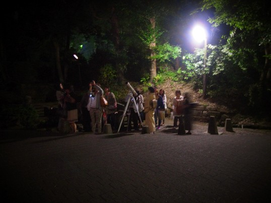 ゴールデンウィークの星空観察会!の画像