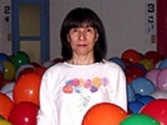 バルーン教室 母の日に風船の花をの画像