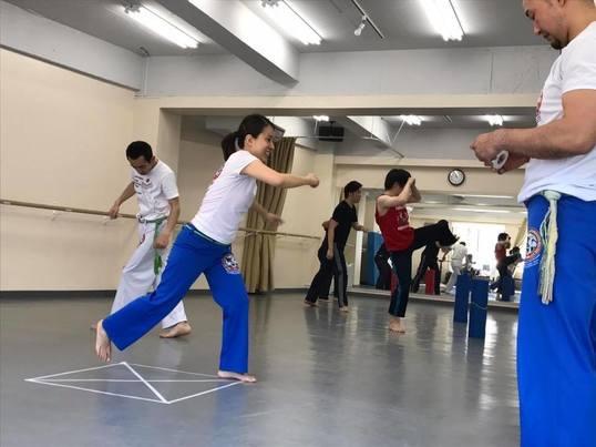お試しカポエイラ@西新井 カポエイラのお稽古を体験!の画像