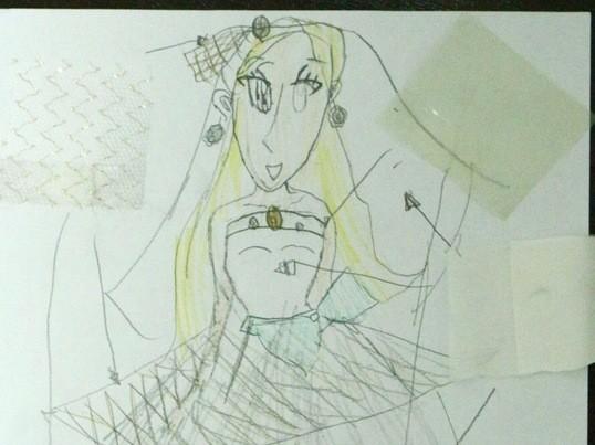 手話通訳付き☆きこえない子のためのウェディングドレスデザイナー体験の画像