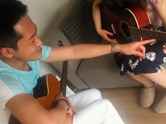 ギターで弾き語りできるようになろうの画像