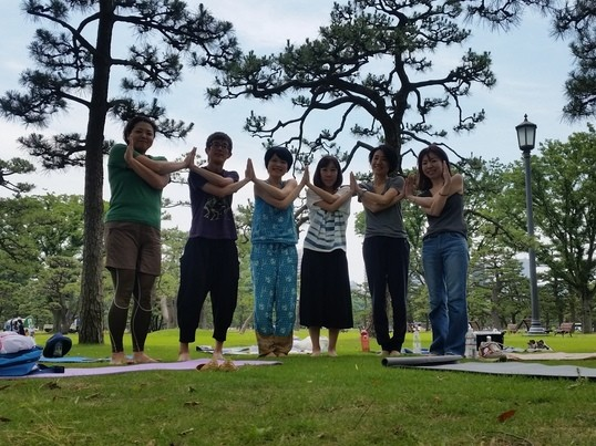 【青空ヨガ】Yoga&Colorsの画像