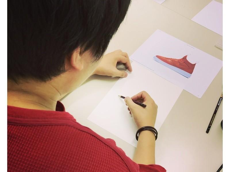 たらし込みで描く水彩画(淡彩画)の画像