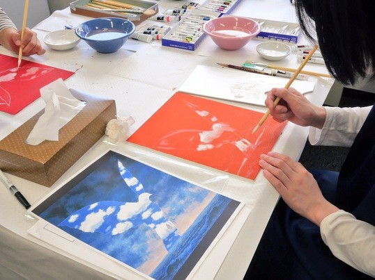 現役の美術作家が教える模写講座 「記号とノイズ」の画像