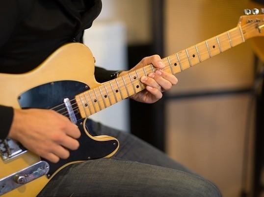 超初心者ロックギターの画像
