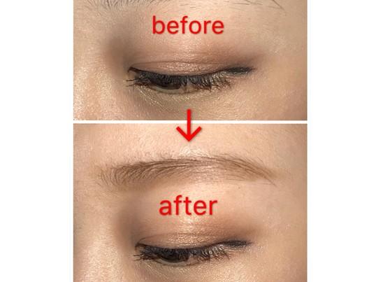 気になる第一印象を変えよう!眉毛の描き方をマンツーマンで!の画像
