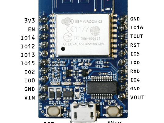 WiFiマイコンESP-WROOM-02とBlynkで体験IoTの画像