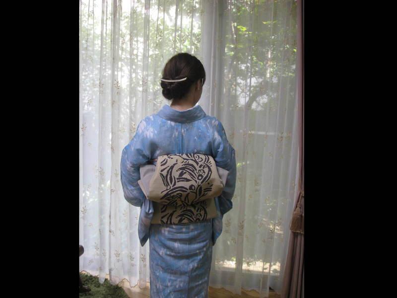 創作帯結び体験クラス ワンランク上に素敵に楽に着崩れなく!豪徳寺の画像