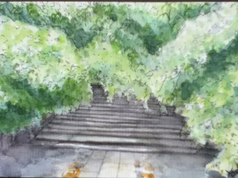 はじめての水彩 風景画@横浜の画像