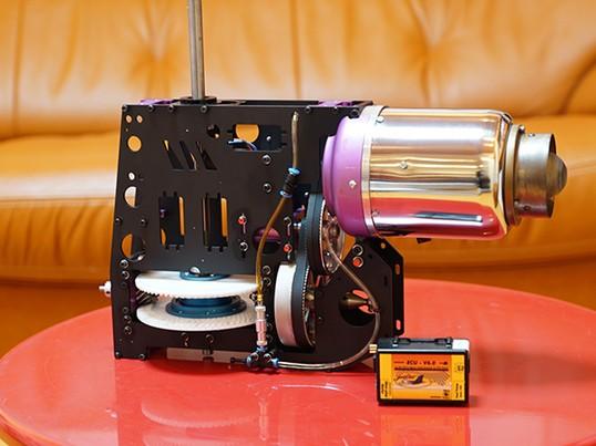 ラジコンジェットスケールヘリの製作・調整の基本知識の画像