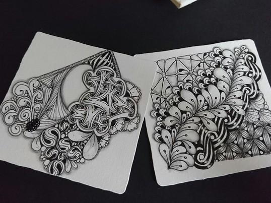 簡単・感激!描くヨガ、ゼンタングルでマインドフルネス by CZTの画像