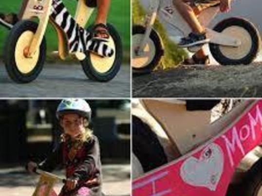 キックバイクを作って走らせよう!の画像
