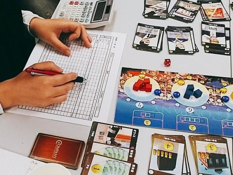経営戦略や会計を楽しく学べる!女性主催の経営ゲーム会の画像