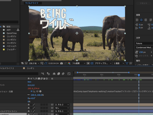 After Effects ADVANCE実写映像×グラフィック編の画像