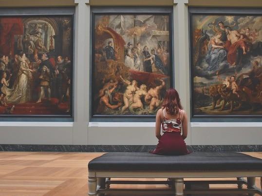 ビジネスにも役立つアートWS:創作活動と対話型鑑賞の実践(全4回)の画像