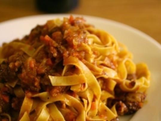 イタリア料理 手打ちパスタを極める!ボロネーゼを作ろう!の画像