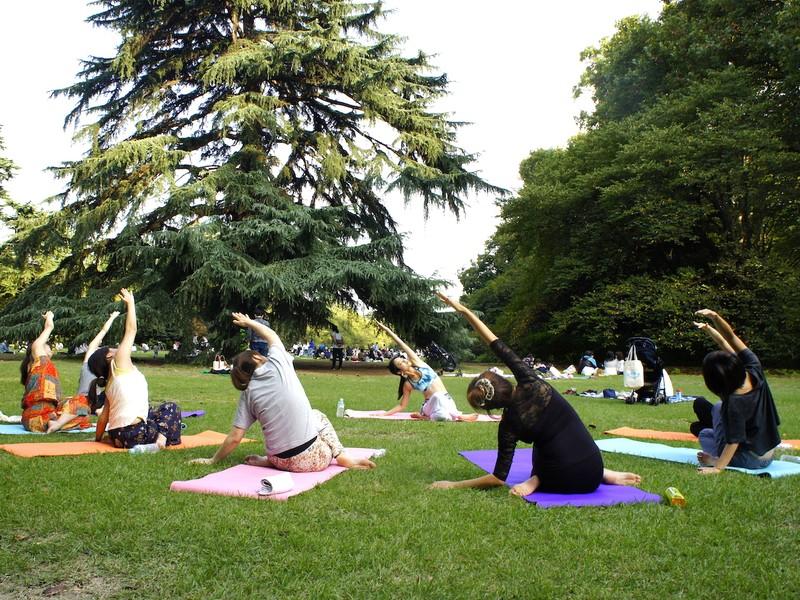 青空のしたで、Yogaしませんか?市川あまみのSoraYogaの画像