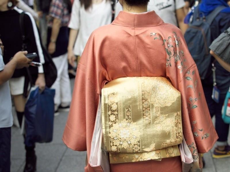 呉服屋の孫が教える着物着付け【フォーマル】in神楽坂の画像