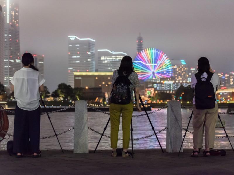 【 夜景篇 】みなとみらいの眺望夜景を美しく撮ろう!の画像