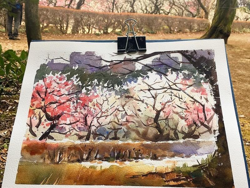 水彩画家 戸田義人が教える、水彩風景画!体験講座の画像