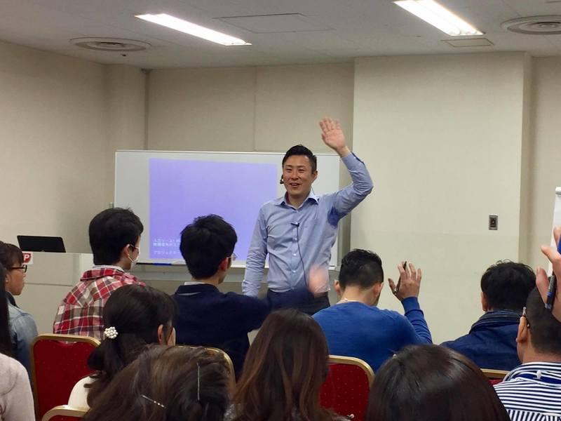日本初のアンソニーロビンズ公認トレーナーの確信の影響力体感セミナーの画像
