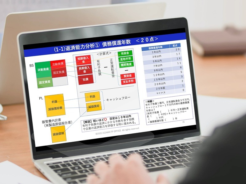 銀行視点・株主視点の経営指標の意味を2時間で習得!経営指標入門講座の画像