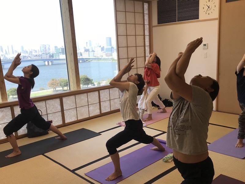 子連れOK★リフレッシュ Yoga @豊洲 or 有明の画像