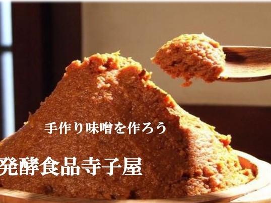 〈麦味噌作り体験教室〉発酵食品寺子屋の画像