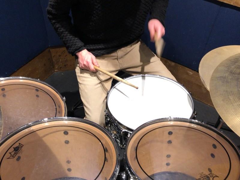 じっくりドラムに触れたい!まずは1曲!ドラム裏の裏ワザ!の画像