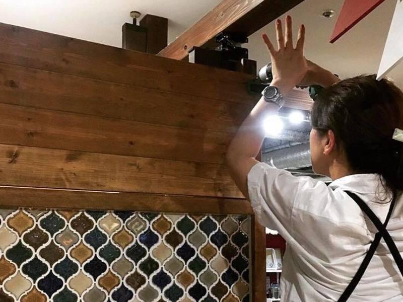 【tukuriba5周年 FES】キッチンにウォリストで棚をつくるの画像