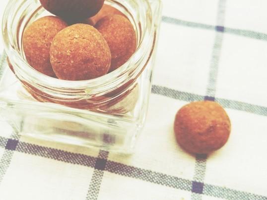 米粉のココア風味クッキー&かぼちゃと黒ゴマのマーブルパウンドケーキの画像