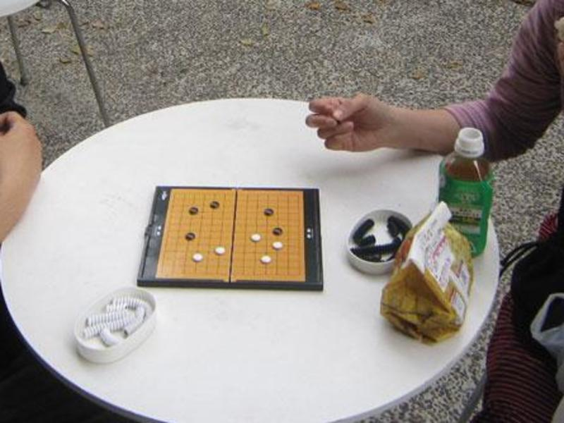 10分で覚えられる囲碁の画像