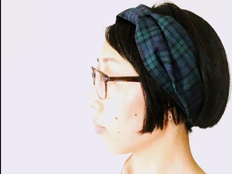 小さなワークショップ②|手縫いでつくるポーランドリネンのヘアバンドの画像