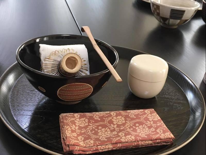 正座をしない茶道。有結流のテーブル茶道教室(初回)秋葉原の画像