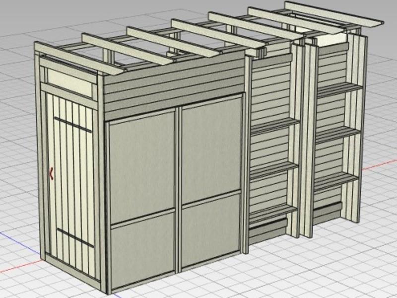 【小屋や収納作りのヒントがいっぱい!】小屋の作り方セミナーの画像